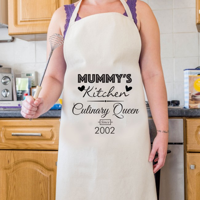 Mother's Day Apron - Culinary Queen