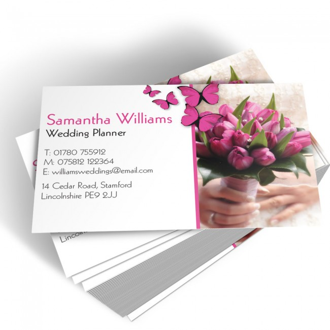 Template business cards able labels templated business card wedding planner 2 colourmoves