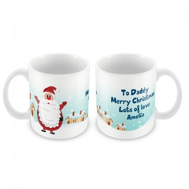 Christmas Mug Santa