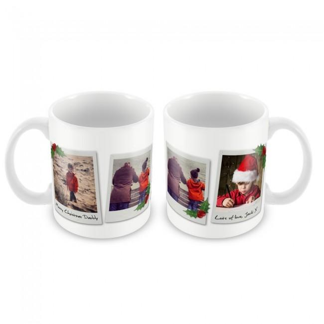 Christmas Mug Polaroids