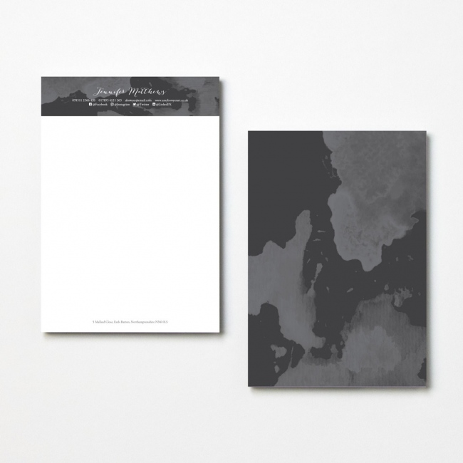 Watercolour Letterheads