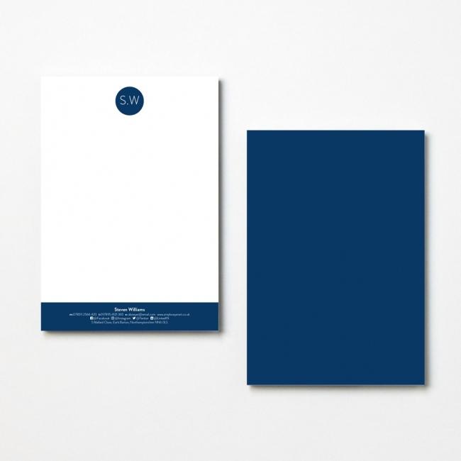 Monogram Letterheads