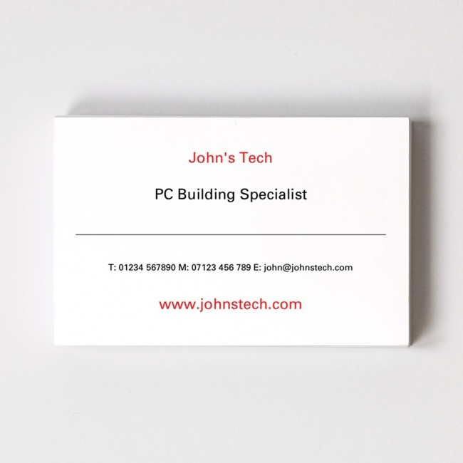 Classic Design Your Own Business Card