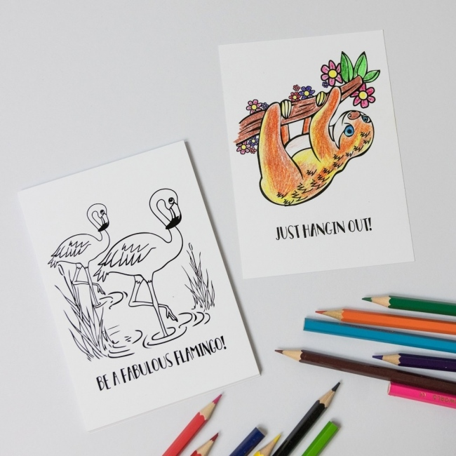 Colour in Postcards