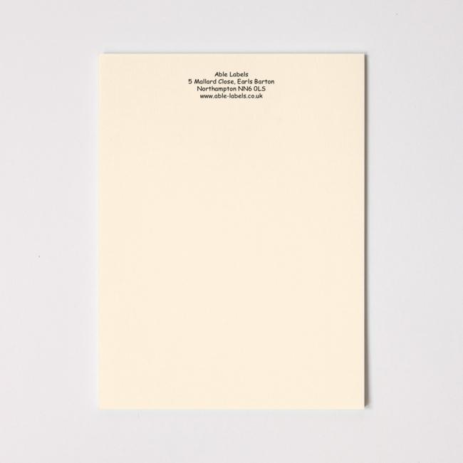Premium Writing Paper