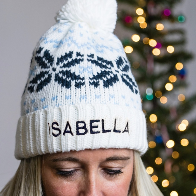 Personalised Adult Bobble Hat