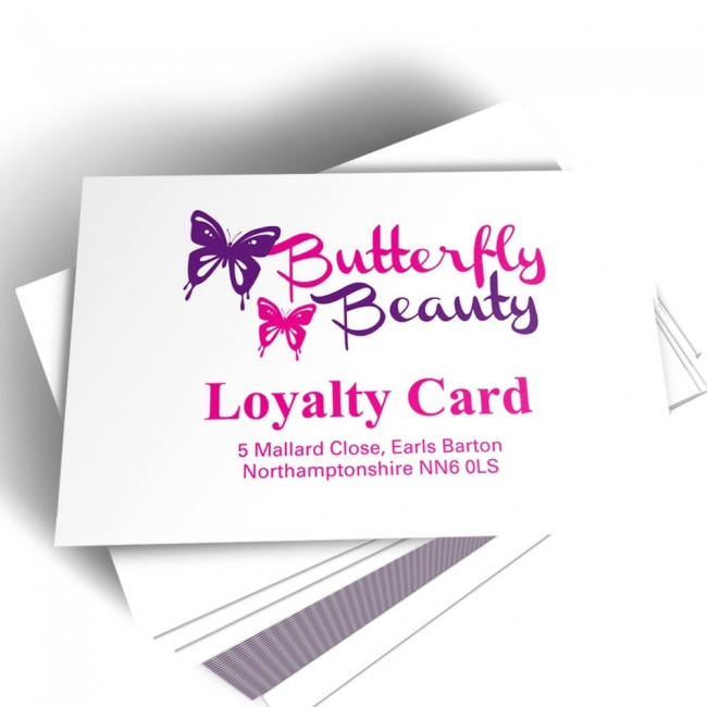 Appointment Card With Personalised Logo