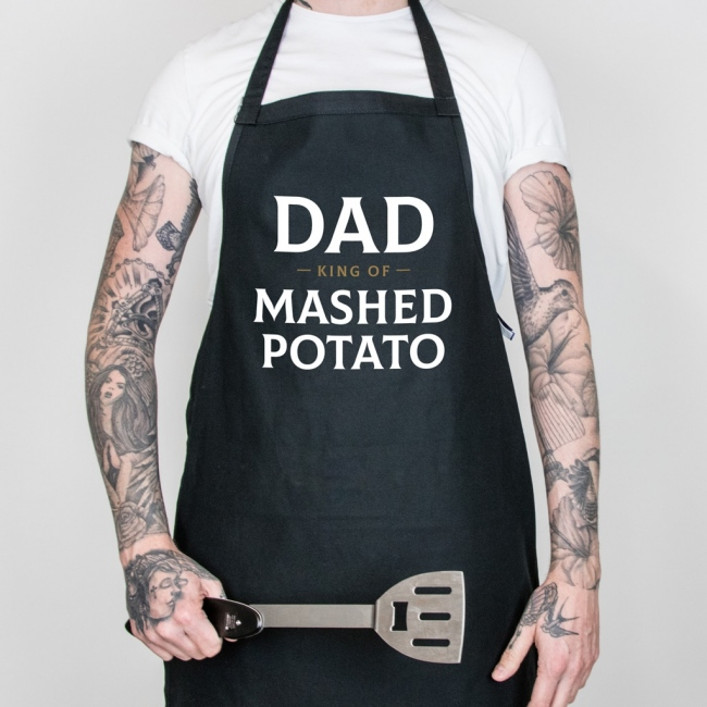 Personalised Father's Day Apron - King Of