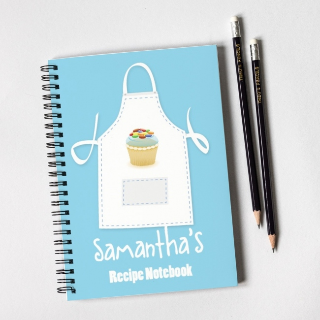 Apron Notebook Gift Set