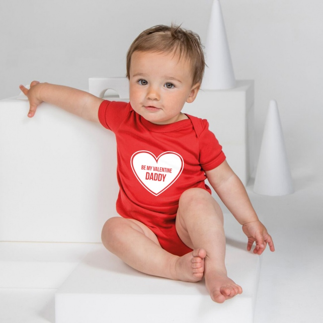 Personalised Baby Grow - Heart Full