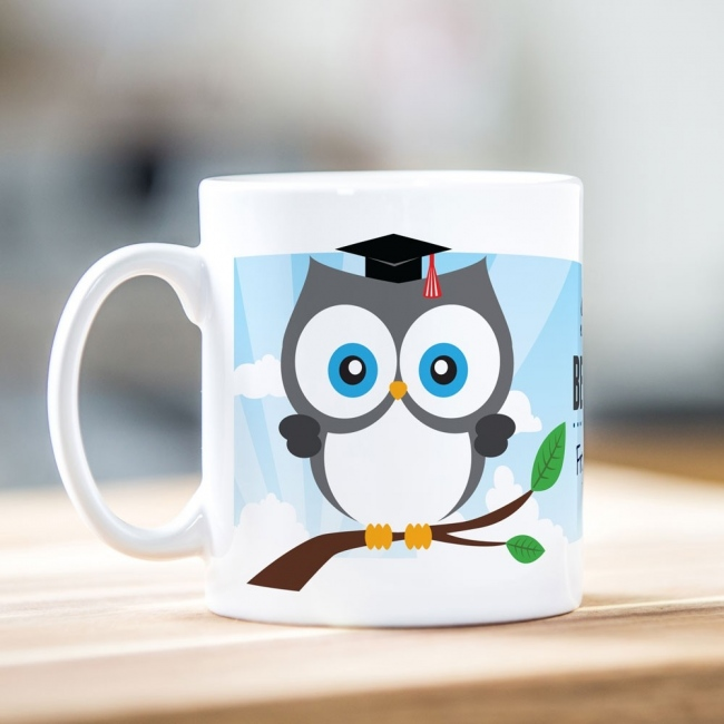 Best Teacher Owl Mug