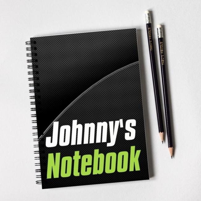 Carbon Fibre Notebook Gift Set