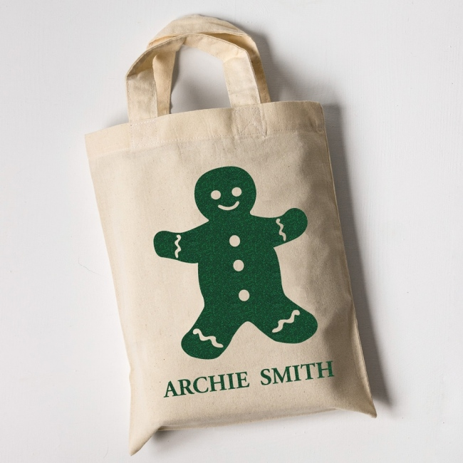 Gingerbread Man - Children's Tote Bag