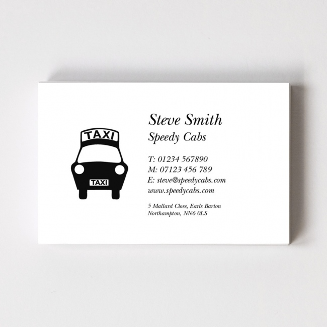 Classic Style C Business Card