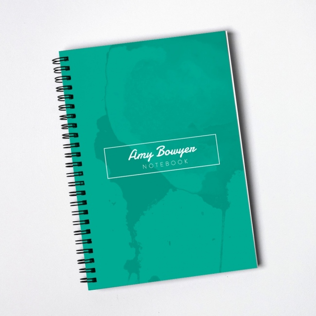 Contemporary Marble Notebook