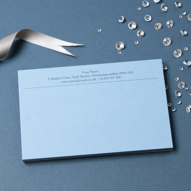 Luxury Personalised Stationery: Custom & Bespoke - Able Labels