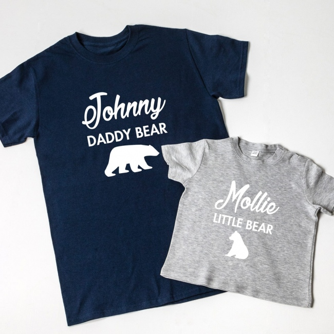 Daddy/Mummy Bear Baby Bear Family T-Shirt
