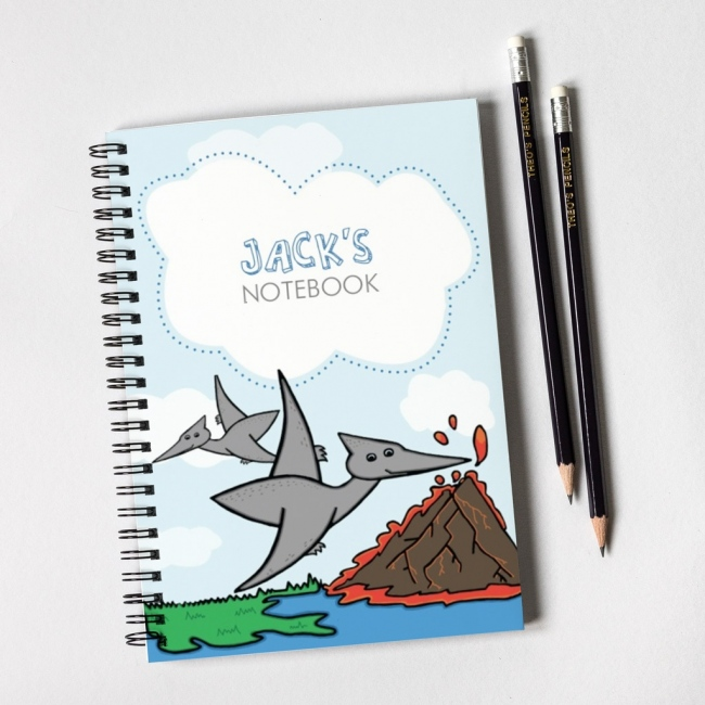 Dinosaur Notebook & Pencil Gift Set