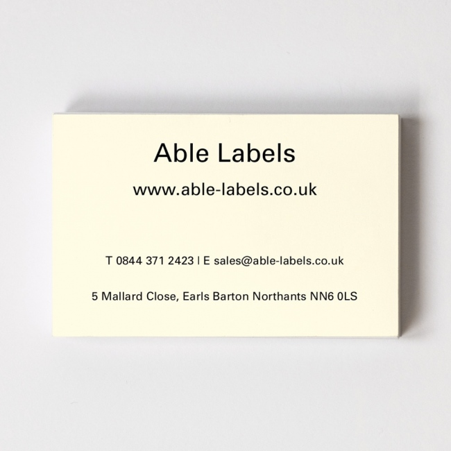 Business cards personalise your business cards online able labels design your own recycled business card reheart Image collections