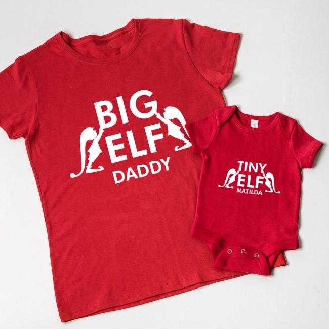 Christmas Family Elves T-shirt