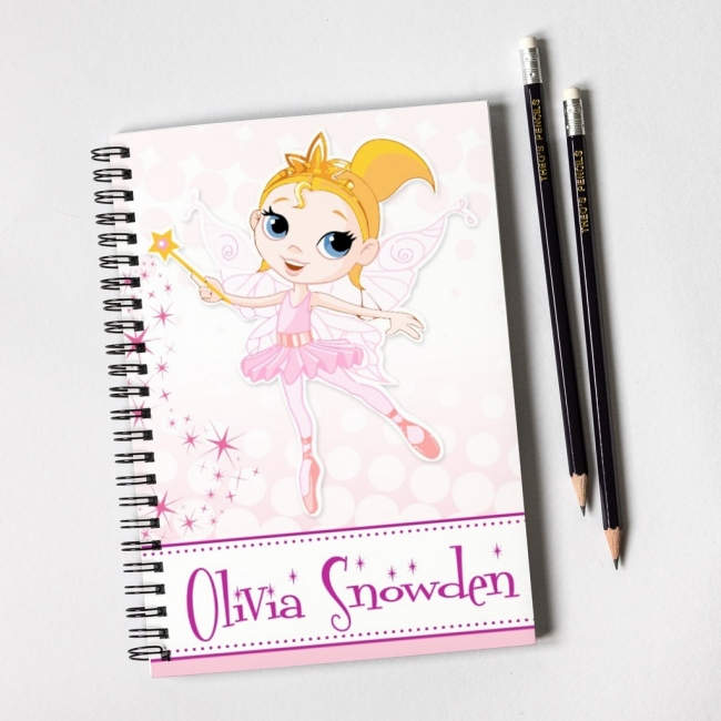 Fairy Notebook & Pencil Gift Set