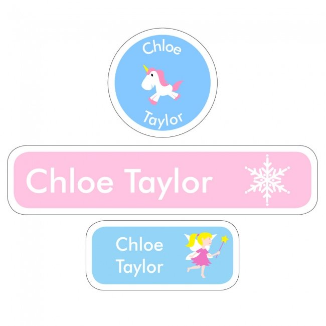 Fairy Tale 2 - Dishwasher Proof Labels