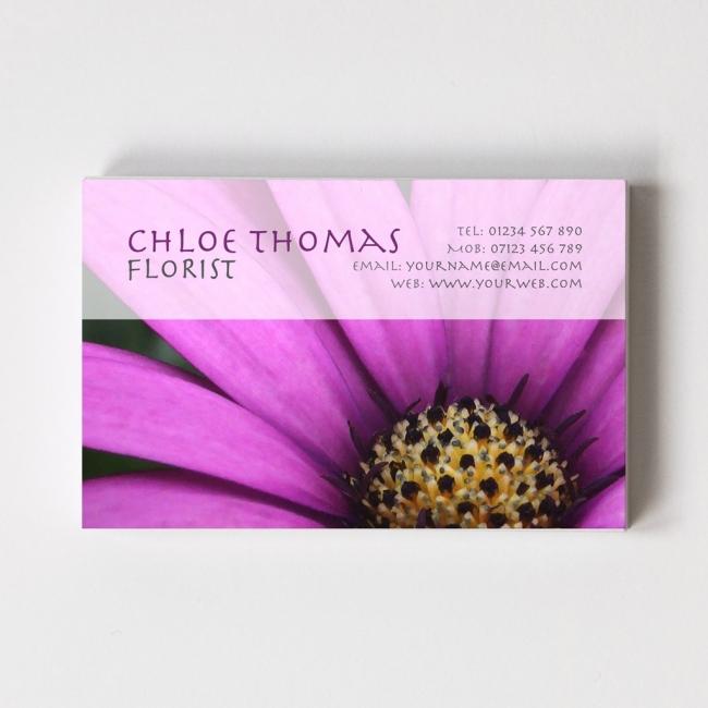 Templated Business Card Florist/Gardener 4