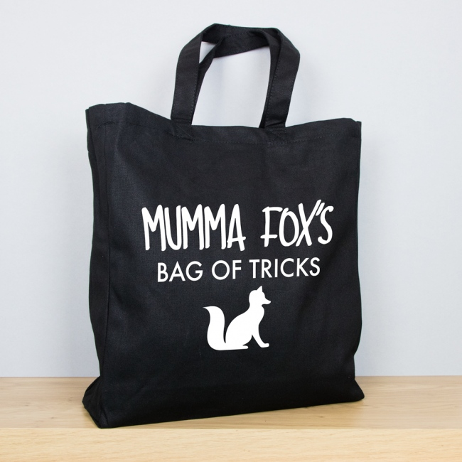 Fox - Personalised Mother's Day Tote Bag