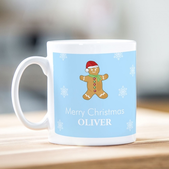 Ginger Bread Man Christmas Mug