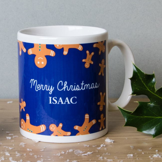 Gingerbread Man - Christmas Mug