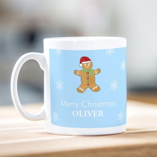 Ginger Bread Man Christmas Mug
