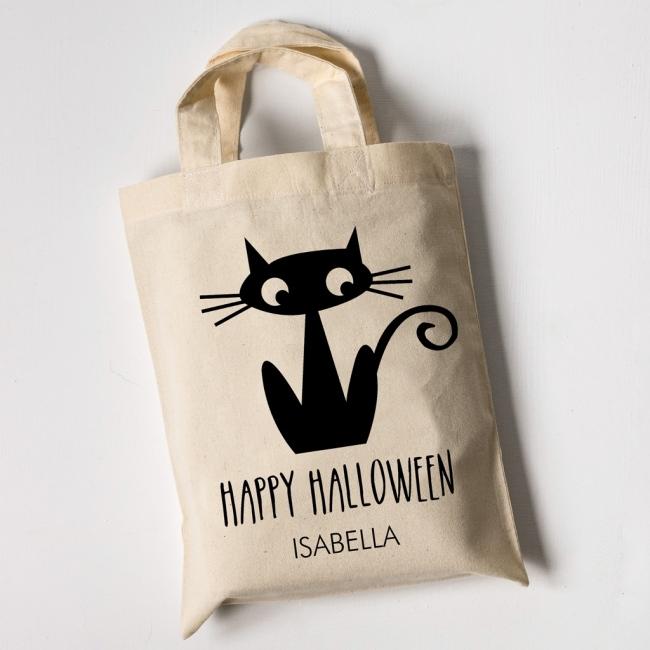 Personalised Halloween Trick or Treat Bags