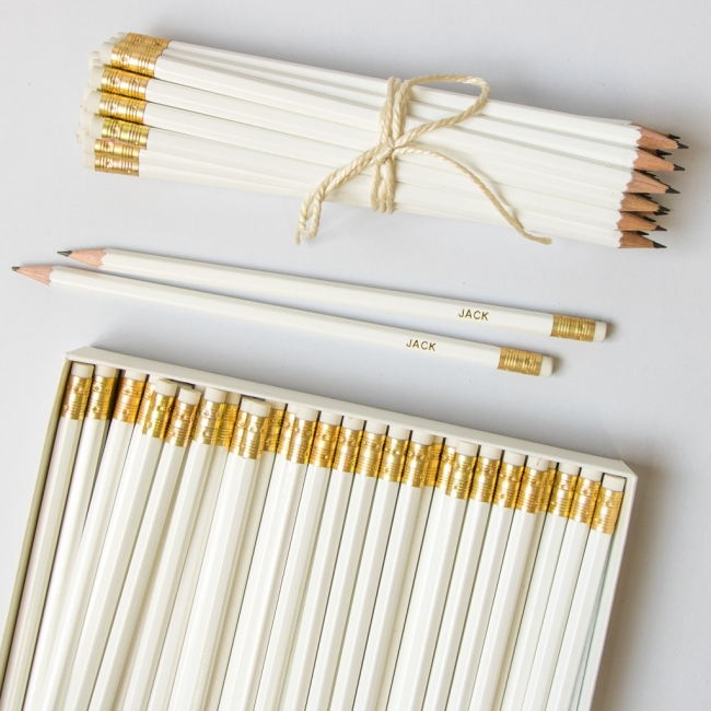Large White Pencil Pack
