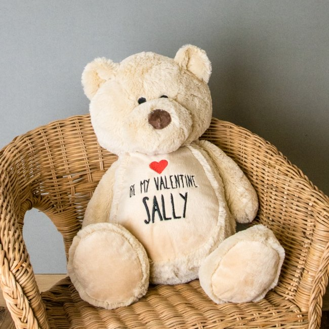 Valentine's Day Personalised Bear