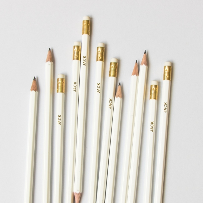 Premium White Pencils
