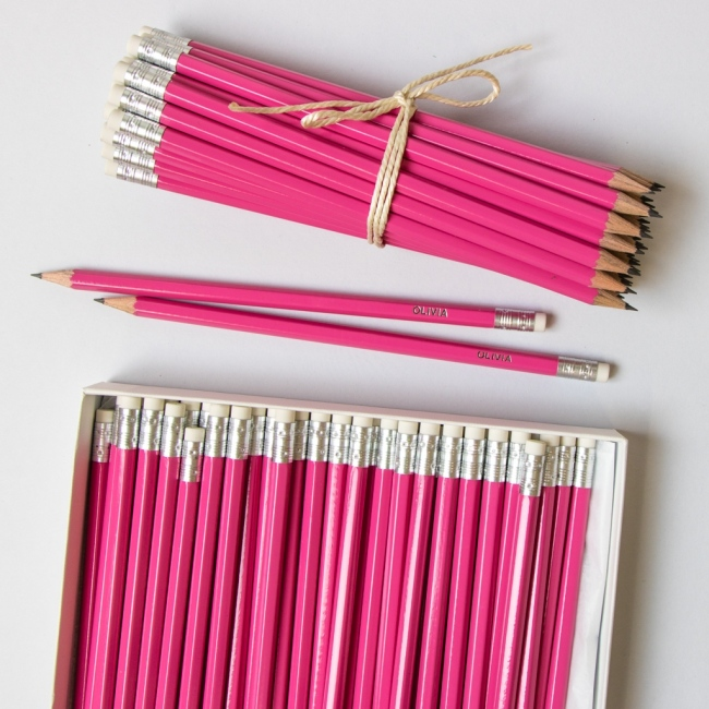 Large Pink Pencil Pack