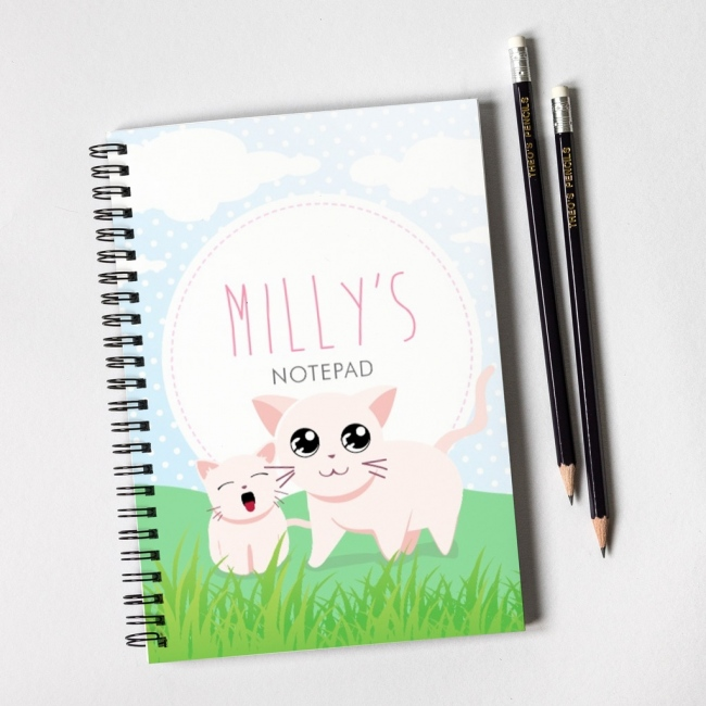Kittens Notebook & Pencil Gift Set