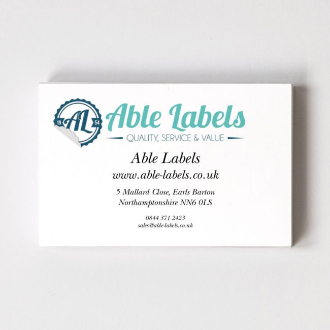 Your Own Logo Top Business Card