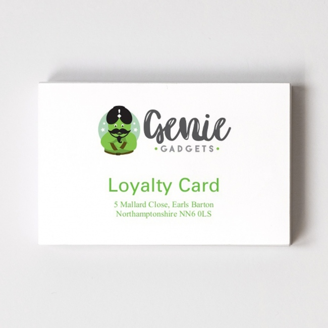 Logo Loyalty Card