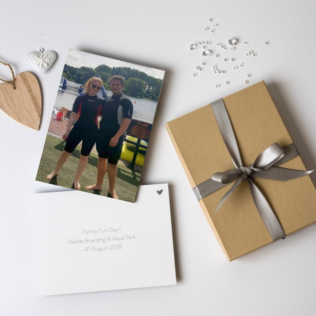 Personalised 8 Photo Memory Cards