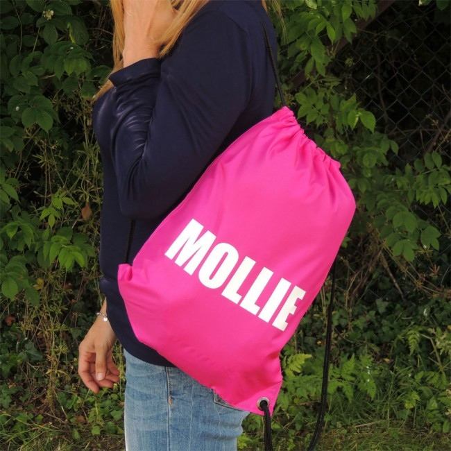 Personalised Large Name Kit Bags