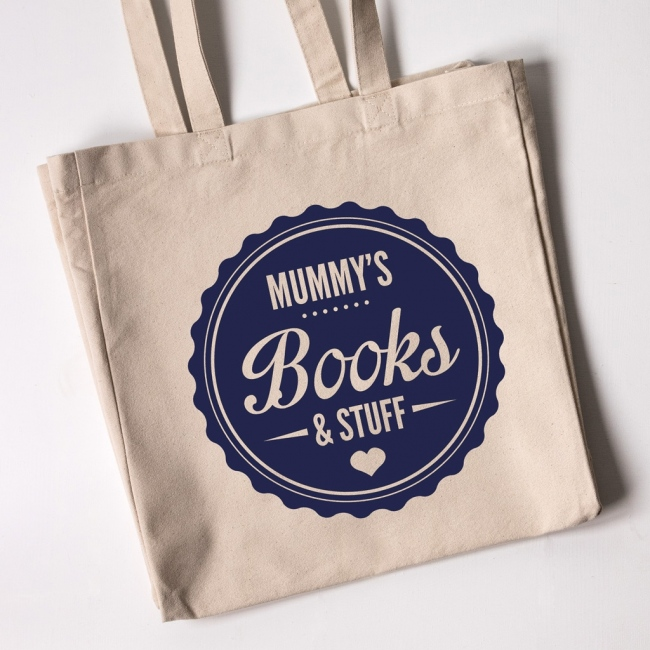 Personalised Tote Bag - Mummy's Books
