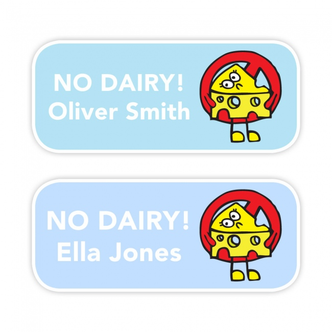 No Dairy - Allergy Labels - Style 2