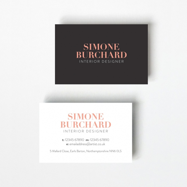 Opaque Design Business Card