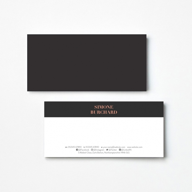 Opaque Compliment Slips