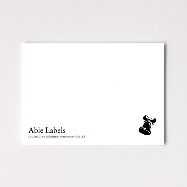 Classic Traditional Serif & Motif Correspondence Cards