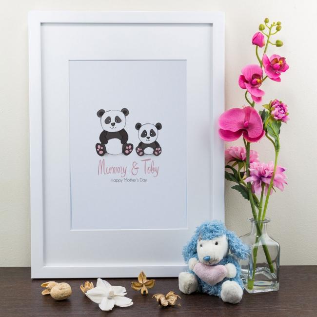 Panda - Personalised Art Print