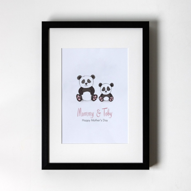 Panda - Personalised Art Print