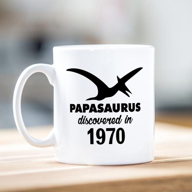 Papasaurus Father's Day Mug