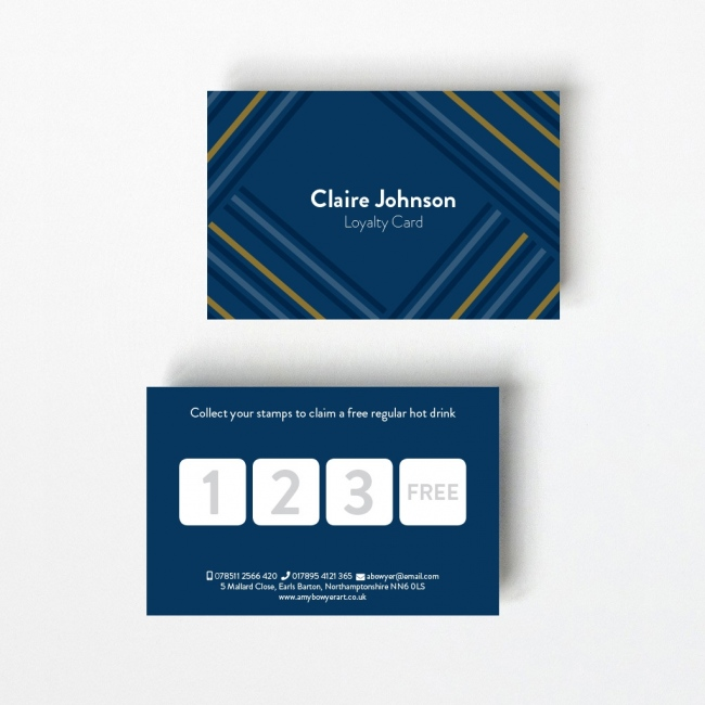 Parallel Loyalty Card - 4 Boxes